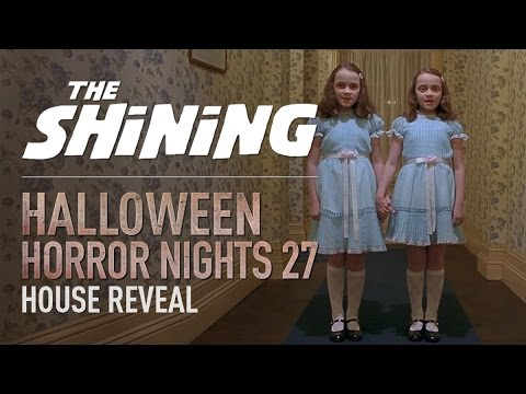Stanley Kubrick's The Shining House Reveal | Halloween Horror Nights 27