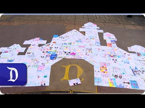 Disneyland Showered With Thousands Of Birthday Wishes