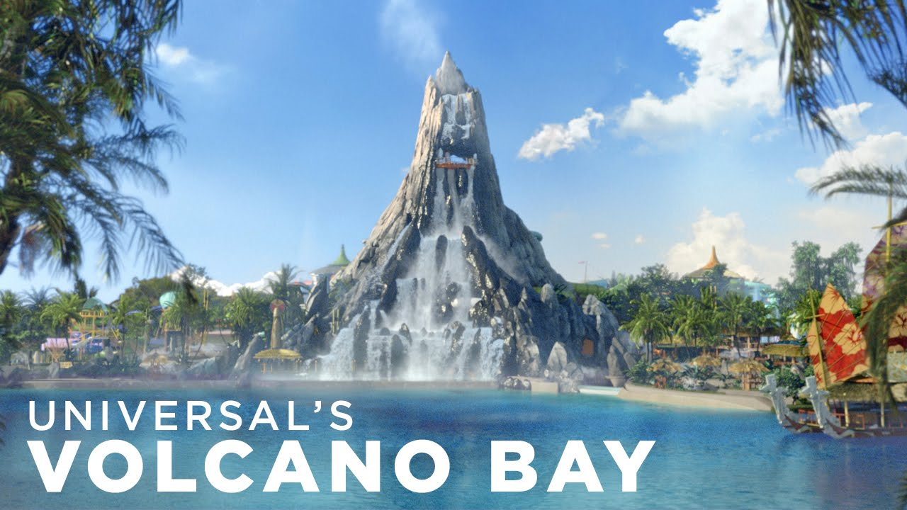 FIRST LOOK: Universal's Volcano Bay