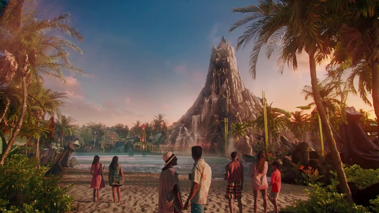 New Experiences at Universal's Volcano Bay