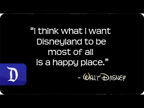 Sixty Seconds of Happiness | Disneyland Resort