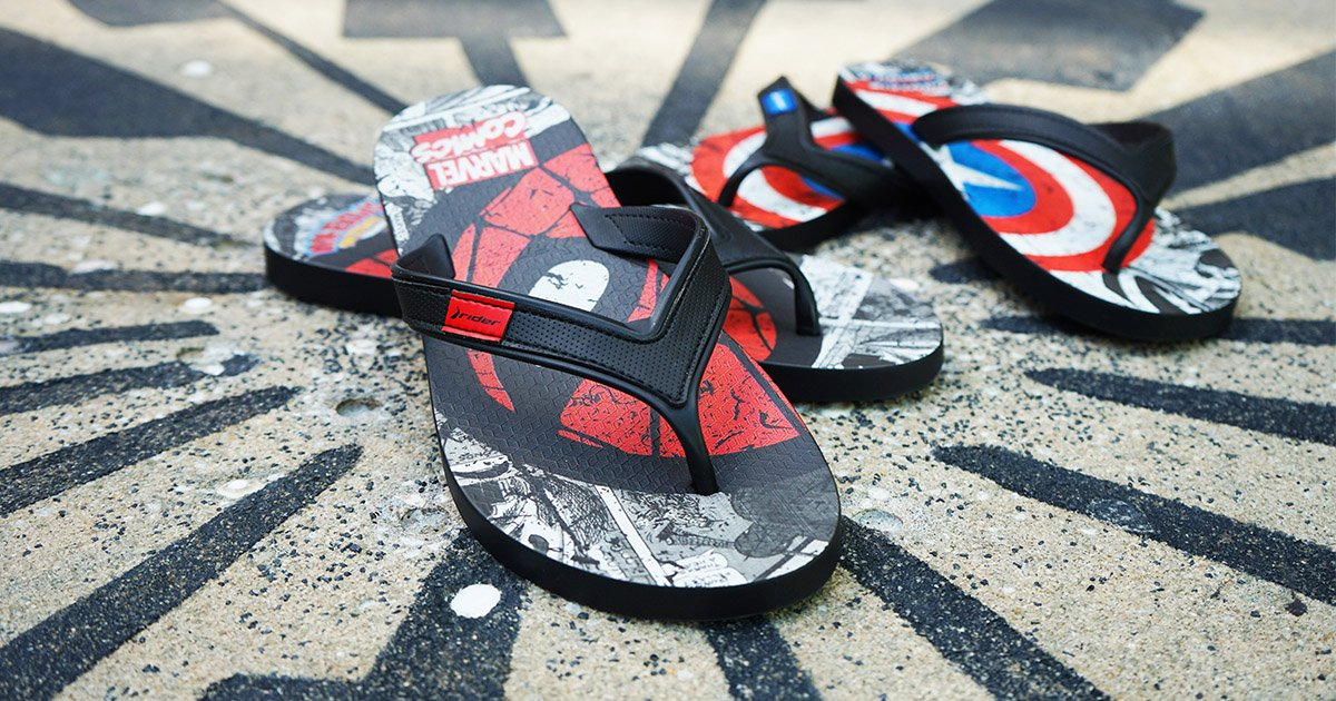 Universal Orlando Close Up | Marvel Flip-Flops Are Available at Universal Orlando Resort