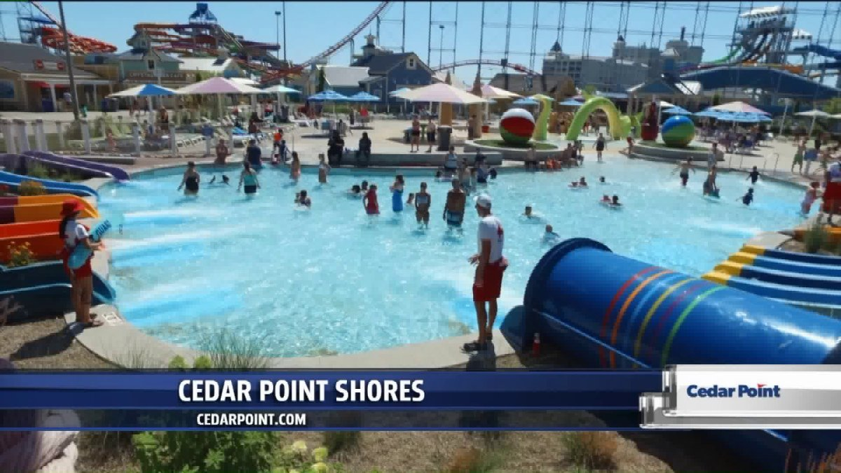 Take a break from roller coasters, cool off at Cedar Point Shores Waterpark