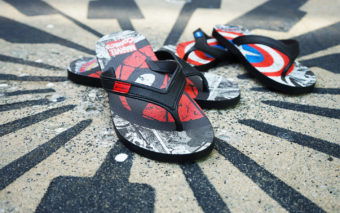 Marvel Flip-Flops are Available at Universal Orlando Resort