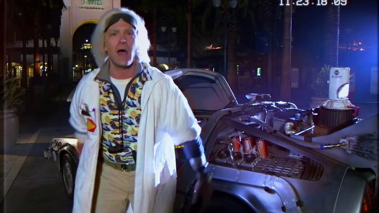 Doc Brown Daylight Savings Explained | Universal Studios Hollywood