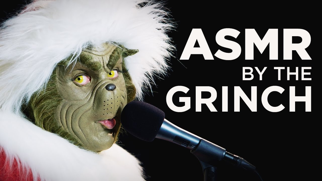 ASMR – The Grinch Eats a Raw Onion