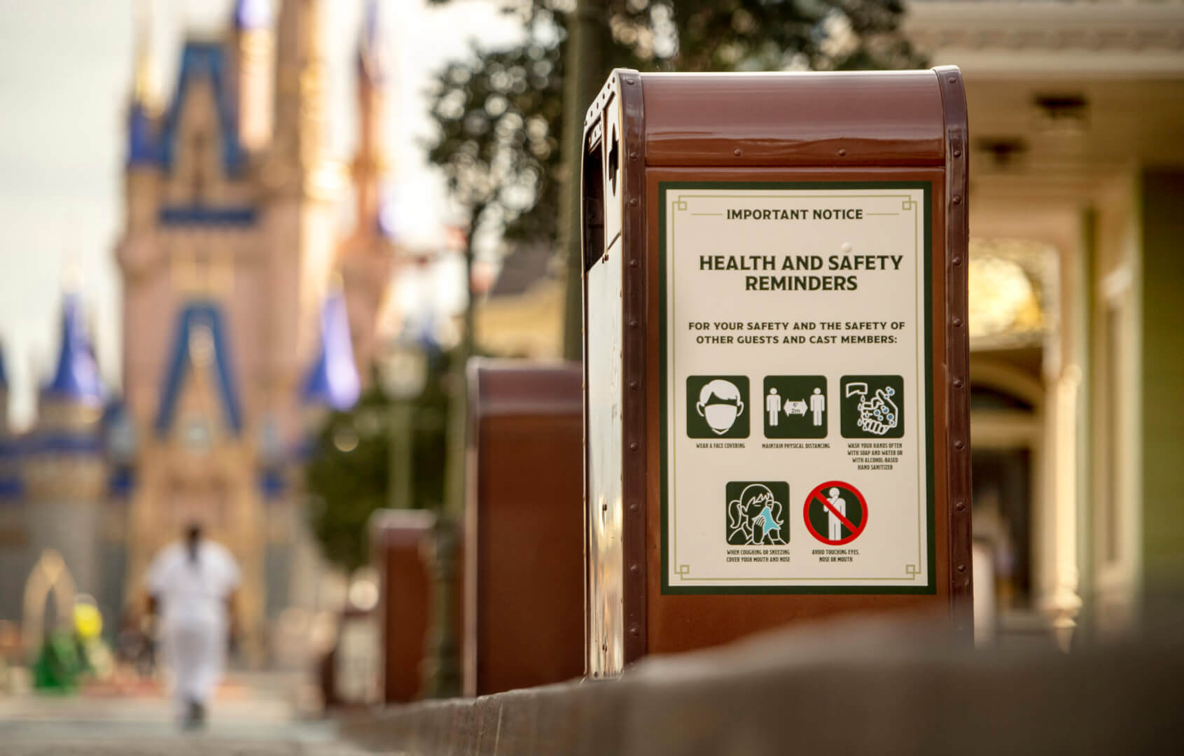 Report: Theme Parks are Open and Coronavirus Cases are Dropping